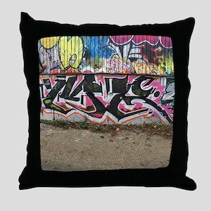 graffiti by me Throw Pillow