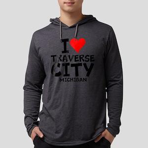 I Love Traverse City, Michigan Long Sleeve T-Shirt