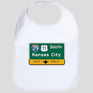 Kansas City, MO Highway Sign Bib