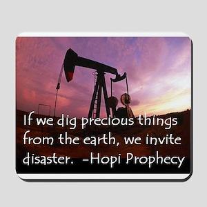 Hopi Prophecy - ANWR Mousepad