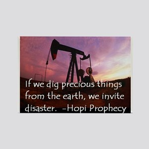 Hopi Prophecy - ANWR Rectangle Magnet