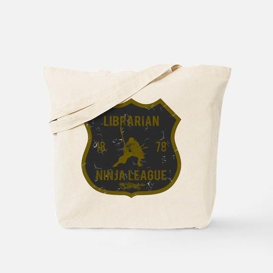 Librarian Ninja League Tote Bag