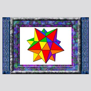"""Dodecahedron - BIG Poster - 35""""x23"""""""
