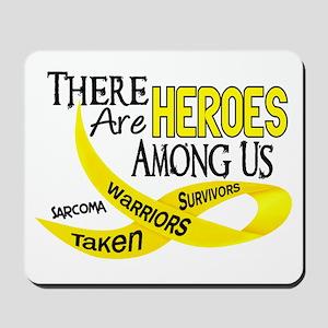 Heroes Among Us SARCOMA Mousepad