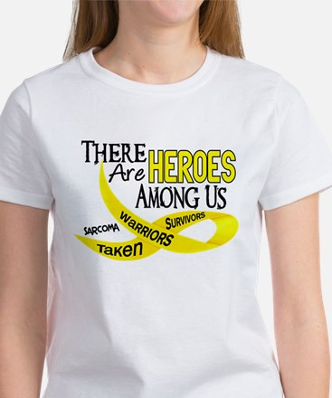 Heroes Among Us SARCOMA Women's T-Shirt