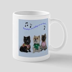 Cairn Terriers in the Rain Mug