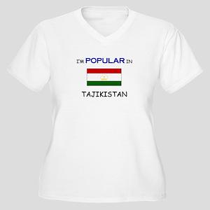 I'm Popular In TAJIKISTAN Women's Plus Size V-Neck