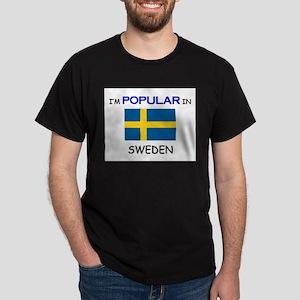 I'm Popular In SWEDEN Dark T-Shirt