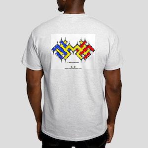 Moresque #5 - Ash Grey T-Shirt