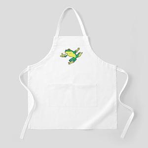 ASL Frog in Flight BBQ Apron