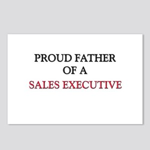 Proud Father Of A SALES EXECUTIVE Postcards (Packa