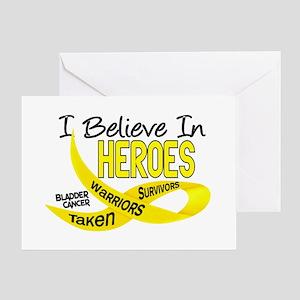 I Believe BLADDER CANCER Greeting Card
