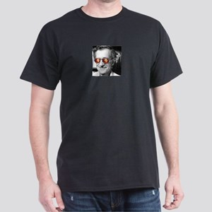 Chomsky Glasses Dark T-Shirt