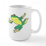 ASL Frog in Flight Large Mug