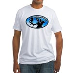 Caribou Maine Sesquicentennial Fitted T-Shirt