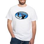 Caribou Maine Sesquicentennial White T-Shirt