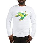 ASL Frog in Flight Long Sleeve T-Shirt