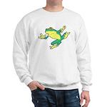ASL Frog in Flight Sweatshirt