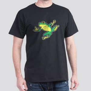 ASL Frog in Flight Dark T-Shirt