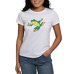 ASL Frog in Flight Women's T-Shirt