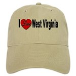 I Love West Virginia Cap