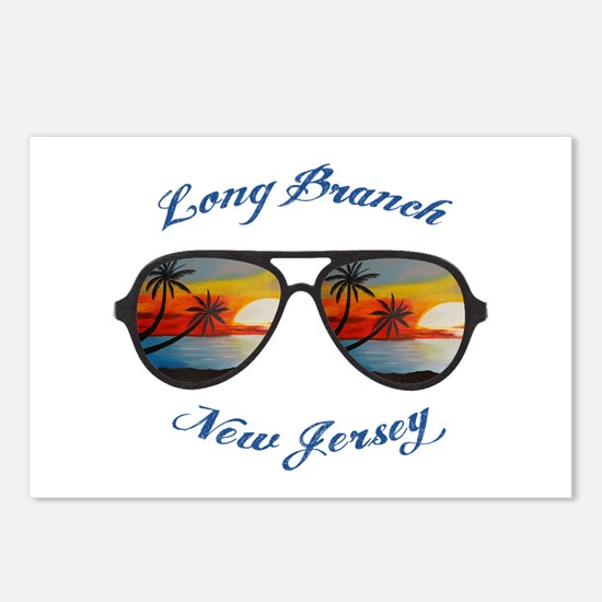New Jersey - Long Branch Postcards (Package of 8)