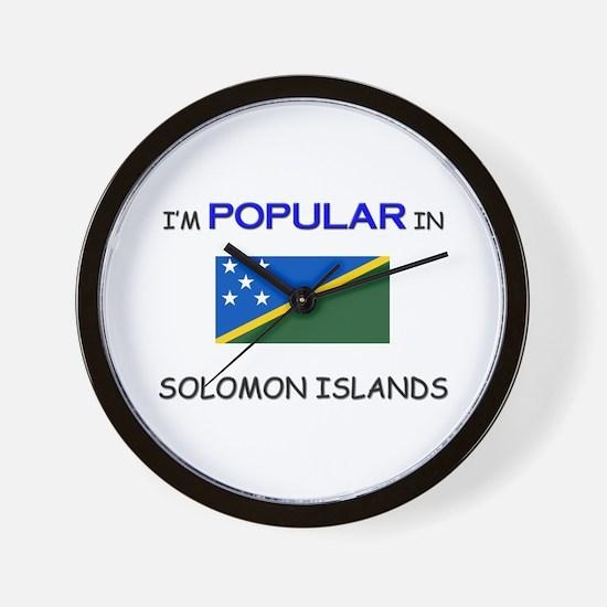 I'm Popular In SOLOMON ISLANDS Wall Clock