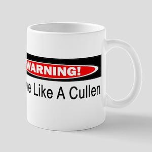 Warning! I Drive Like A Cullen Mug