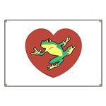 ASL Frog in Heart Banner