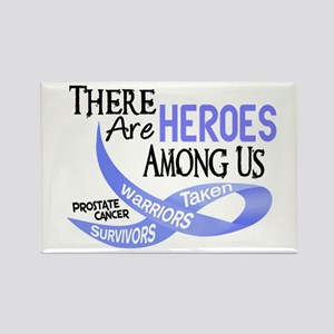 Heroes Among Us PROSTATE CANCER Rectangle Magnet