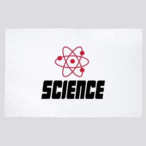 Science 4' x 6' Rug