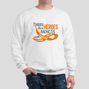 Heroes Among Us LEUKEMIA Sweatshirt