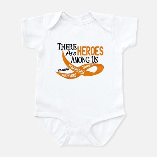 Heroes Among Us LEUKEMIA Infant Bodysuit