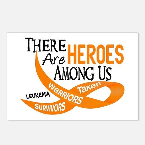 Heroes Among Us LEUKEMIA Postcards (Package of 8)