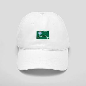 Charlotte, NC Highway Sign Cap