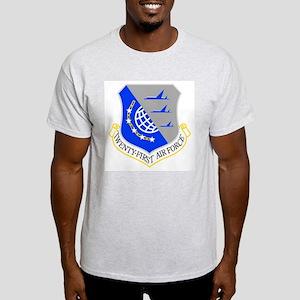21st Air Force Ash Grey T-Shirt
