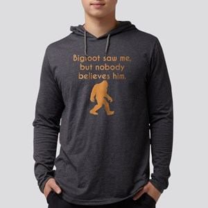Bigfoot Saw Me Long Sleeve T-Shirt