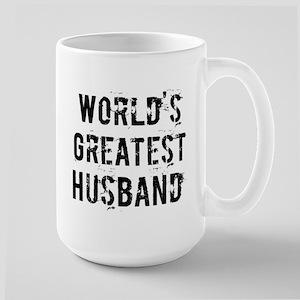 Worlds Greatest Husband Large Mug