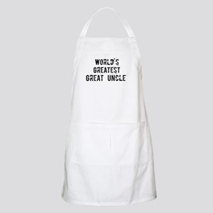 Worlds Greatest Great Uncle BBQ Apron