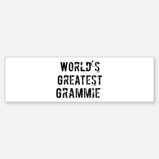 Worlds Greatest Grammie Bumper Bumper Bumper Sticker