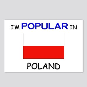 I'm Popular In POLAND Postcards (Package of 8)