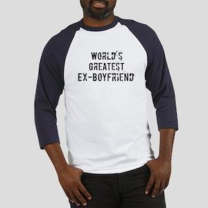 Worlds Greatest Ex-Boyfriend Baseball Jersey
