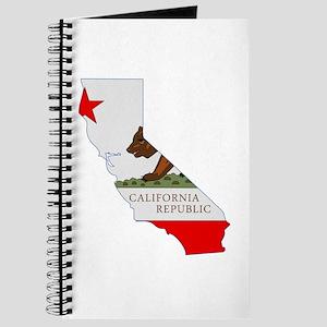 California Stripe Custom Desi Journal