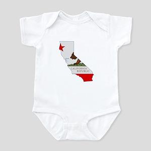 California Stripe Custom Desi Infant Bodysuit