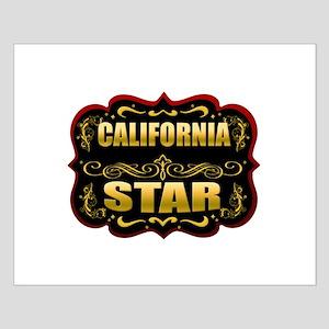 California Star Gold Badge Se Small Poster