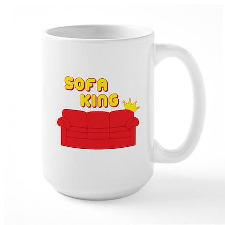 Sofa King Large Mug