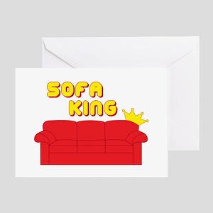 Sofa King Greeting Card