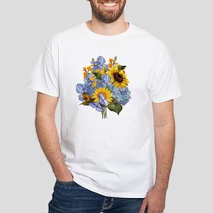 Summer Bouquet White T-Shirt