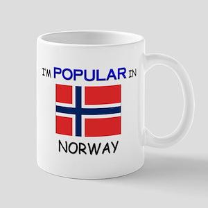 I'm Popular In NORWAY Mug