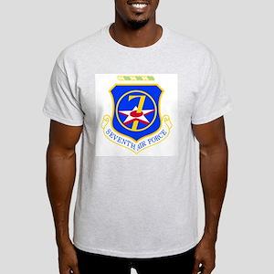 7th Air Force Ash Grey T-Shirt